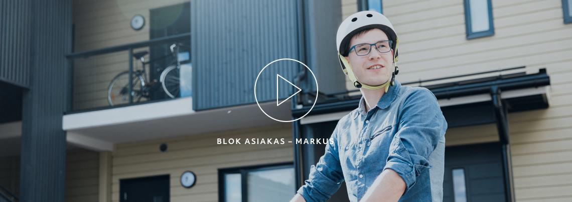 Blok testimonial video